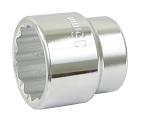 "Gland/Axle Nut Socket, 36mm, 1/2"" Drive"