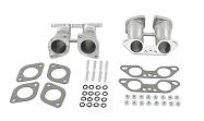 Manifold Kit for Dual 1700-2000cc Type 2/4 & 914 Weber IDF / Empi HPMX Carburetors