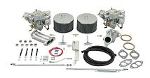 Dual 44mm Brosol / Solex Kadron Carburetor Kit with Electric Chokes for Type 1 & 2