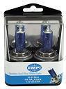 Replacement Halogen Bulbs - Ultra Cool Blue White Light, H4 12V 130/100W, Blue, Pair