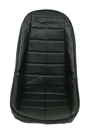 Low Back Seat Cover - Black