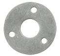 Steering Flange, 3 Hole, Raw
