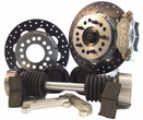 Pantera Front & Rear H.P. Solid Rotor Brake & CV Joint Kit