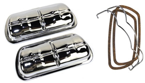 Valves Covers With Bails- Chrome (set)