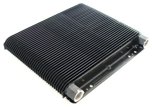 "72 Plate Oil Cooler Only 1 1/2"" x8"" x 11"""