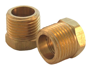 Brass Bushing 1/2 MPT x 3/8 FTP