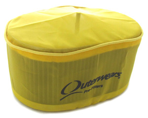 "4 1/2"" x 7"" x 3 1/2"" Yellow Air Filter Outerwear"