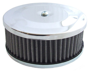 "Stock air cleaner w/element 3 5/8"" tall"