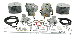 Dual 40mm Brosol / Solex Kadron Carburetor Kit for 1.7L-1.8L Type 2's (72 and later)