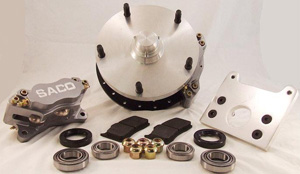 Type 2 Disc Brake Kit, 64-67 - Front (Four Piston)